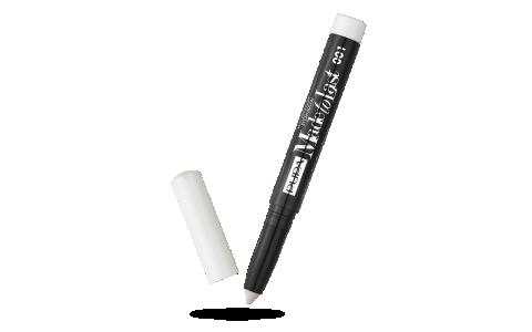 Stick ouvert ombre à paupières made to last pupa 001 flash white