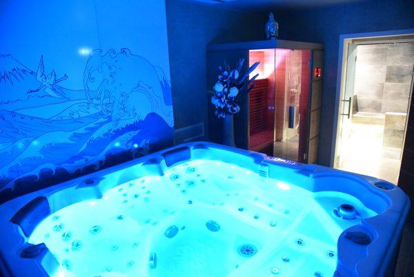 SPA Bleu avec sauna et Hammam