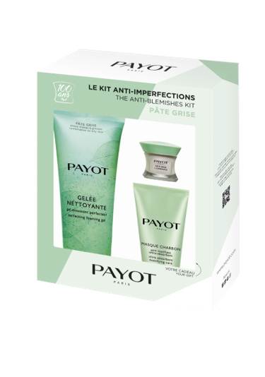 Packaging kit anti imperfections pate grise